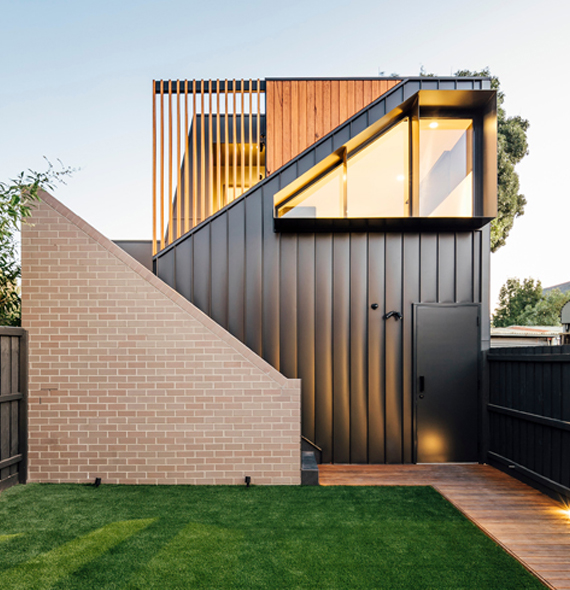 Custom home builder Fitzroy North project